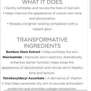 Cosemedix Makeup - 🌟NWT GLOW BRIGHTENING BAMBOO MASK